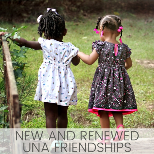 Our New and Renewed Friendships - January 2021