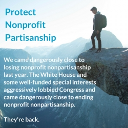 They're Back!  Special Interests Want to Destroy Nonprofit Nonpartisanship