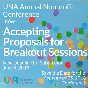 The UNA Annual Nonprofit Conference is Now Accepting Proprosals