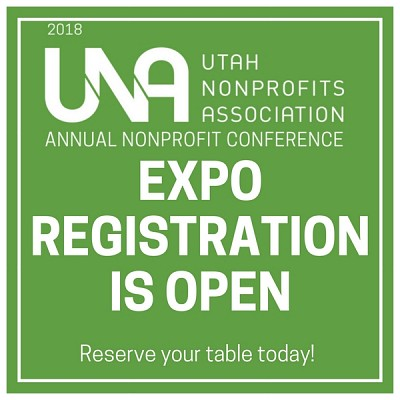 UNA Annual Nonprofit Conference on September 25, 2018:  Expo Registration is Open