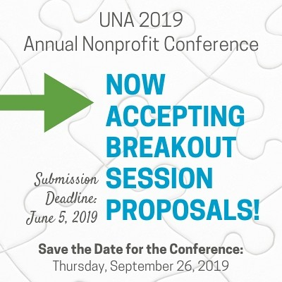 UNA 2019 Annual Nonprofit Conference Now Accepting Proposals!