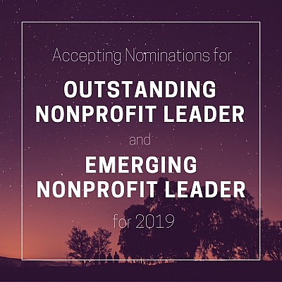 Accepting Nominations for UNA's 2019 Nonprofit Leader Awards